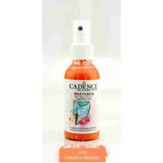 Cadence Your Fashion Textile Spray 100ml Orange 1105