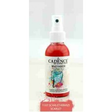Cadence Your Fashion Textile Spray 100ml Scarlet 1107