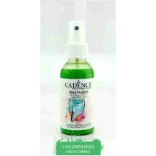 Cadence Your Fashion Textile Spray 100ml Grass Green 1112