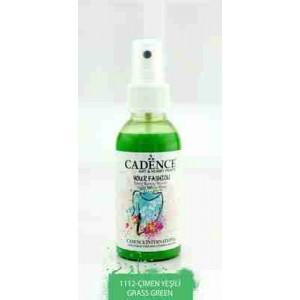 Cadence Your Fashion Textile Spray 100ml Grass Green 1112