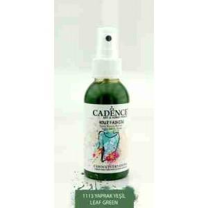 Cadence Your Fashion Textile Spray 100ml Leaf Green 1113