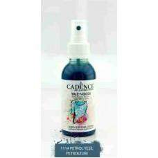 Cadence Your Fashion Textile Spray 100ml Petroleum 1114