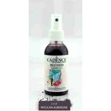 Cadence Your Fashion Textile Spray 100ml Aubergine 1117