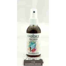 Cadence Your Fashion Textile Spray 100ml Brown 1118