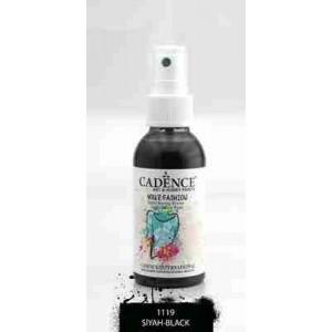 Cadence Your Fashion Textile Spray 100ml Black 1119