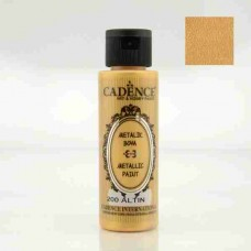 Cadence Diamond Metallic Paint 70ml Gold 200