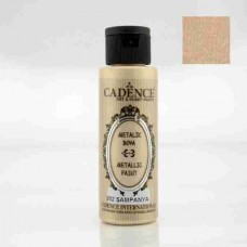 Cadence Diamond Metallic Paint 70ml Champagne 202