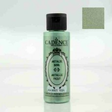Cadence Diamond Metallic Paint 70ml Mint Green 204