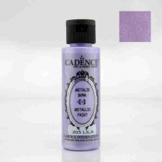 Cadence Diamond Metallic Paint 70ml Lilac 205