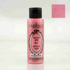 Cadence Diamond Metallic Paint 70ml Sugar Pink 207