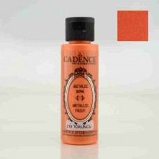 Cadence Diamond Metallic Paint 70ml Orange 210