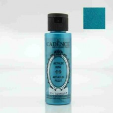 Cadence Diamond Metallic Paint 70ml Turquoise 214