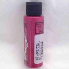 Cadence Diamond Metallic Paint 70ml Dark Pink 672