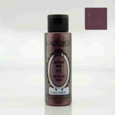 Cadence Diamond Metallic Paint 70ml Dried Rose 217