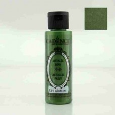 Cadence Diamond Metallic Paint 70ml Grass 221