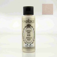 Cadence Diamond Metallic Paint 70ml Beige 227