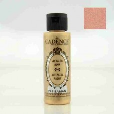 Cadence Diamond Metallic Paint 70ml Straw 228