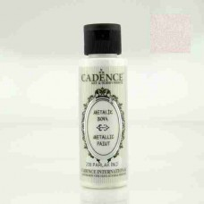 Cadence Diamond Metallic Paint 70ml Bright Pearl 238