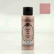 Cadence Diamond Metallic Paint 70ml Powder Pink 240