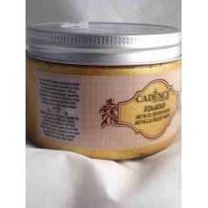Cadence Diamond Metallic Relief Paste 150ml Gold 1851
