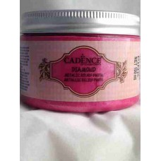 Cadence Diamond Metallic Relief Paste 150ml Pink 1850