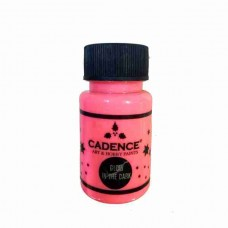 Cadence Glow in the Dark Paint 50ml Pink 579