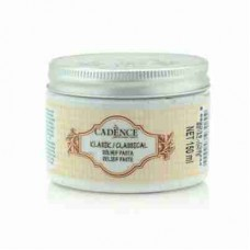 Cadence Classical Relief Paste White 150ml