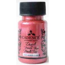 Cadence Dora Metallic Paint 50ml Red 133