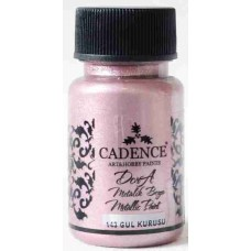 Cadence Dora Metallic 50ml Dried Rose 143