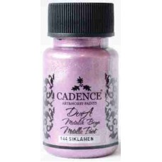 Cadence Dora Metallic Paint 50ml Cyclamen 144