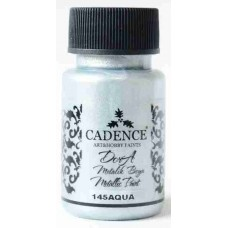 Cadence Dora Metallic 50ml Aqua 145