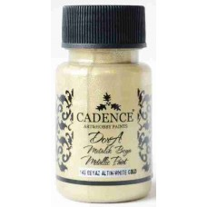 Cadence Dora Metallic 50ml White Gold 148