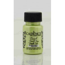 Cadence Dora Metallic 50ml Apple Green 161
