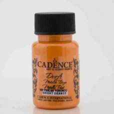 Cadence Dora Metallic 50ml Bright Orange 169
