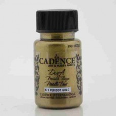 Cadence Dora Metallic 50ml Peridot Gold 171