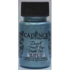 Cadence Dora Metallic 50ml Muse Blue 180