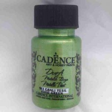 Cadence Dora Metallic 50ml Vivid Green 183