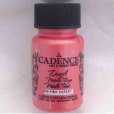 Cadence Dora Metallic 50ml Pink Sorbet 196