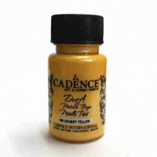 Cadence Dora Metallic 50ml Canary Yellow 199
