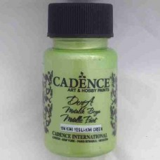 Cadence Dora Metallic 50ml Kiwi Green 184