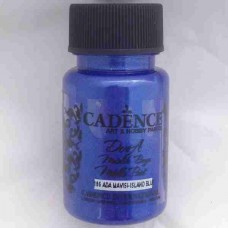 Cadence Dora Metallic 50ml 195 Island Blue 195