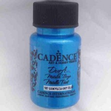 Cadence Dora Metallic 50ml Sky Blue 187