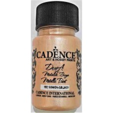 Cadence Dora Metallic 50ml Salmon 192