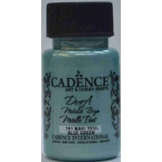 Cadence Dora Metallic 50ml Blue Green 201