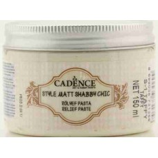 Cadence Shabby Chic Relief Paste 150ml Taffy S1