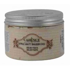 Cadence Shabby Chic Relief Paste 150ml Linen S3
