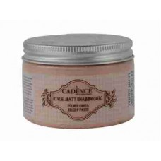 Cadence Shabby Chic Relief Paste 150ml Light Coral S6