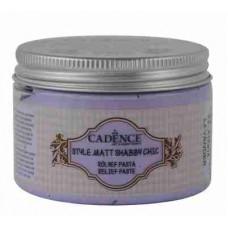Cadence Shabby Chic Relief Paste 150ml Lavander S9