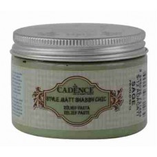 Cadence Shabby Chic Relief Paste 150ml Sage S12