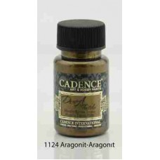 Cadence Dora Textile Metallic Paint 50ml Aragonite 1124